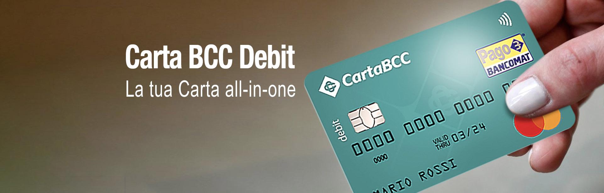 Carta BCC Debit